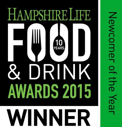 Winners Hampshire Life Food and Drink Newcomer of the Year Award