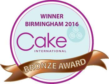Cake International Nov 2106 Bronze Winner