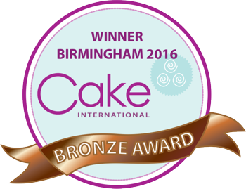 Cake International Nov 2106 Bronze Winner