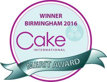Cake International Nov 2016 Merit Winner