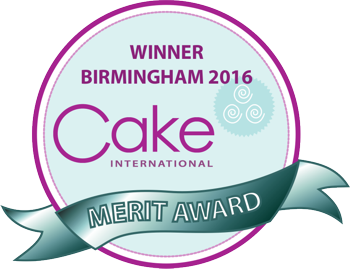 Cake International Nov 2016 Merit Winner